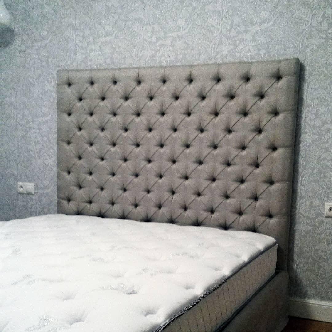 Перетяжка, ремонт и изготовление изголовьев кроватей