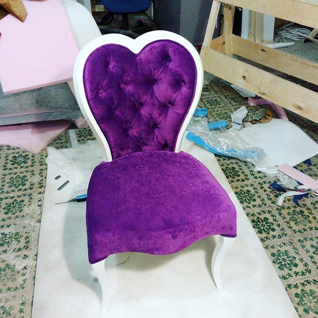 Перетяжка, ремонт и изготовление стульев